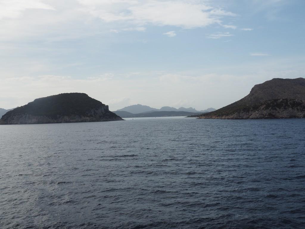 Sardinien in Sicht