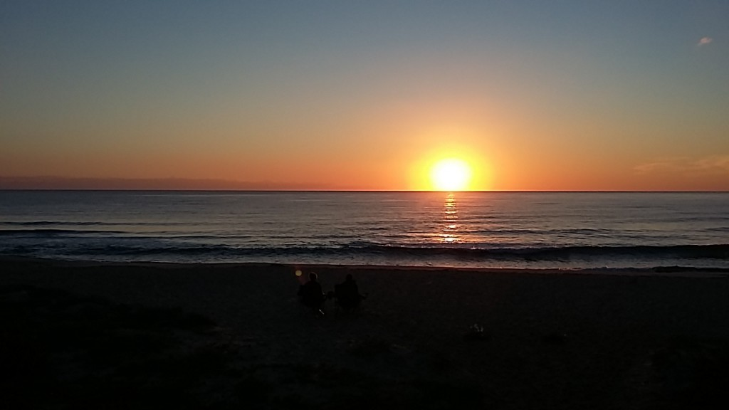 Sonnenaufgang Capo Ferrato
