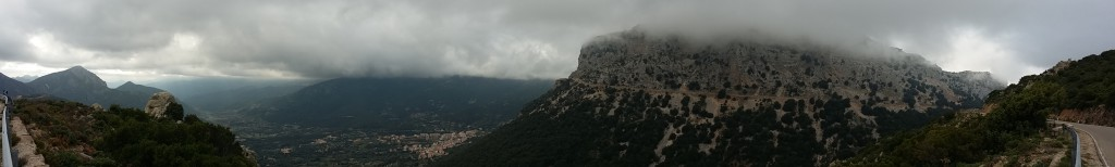 Panoramablick Supramonte