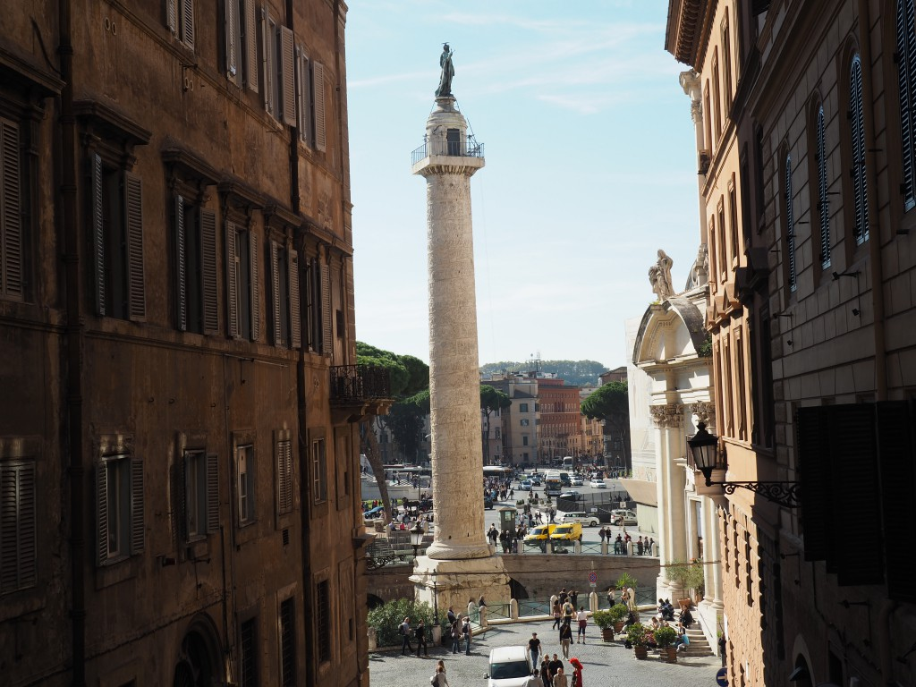 Blick auf Piazza Venezia