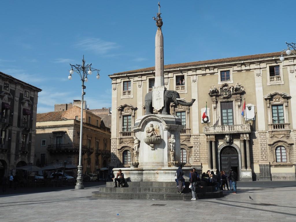 Brunnen am Domplatz, Catania