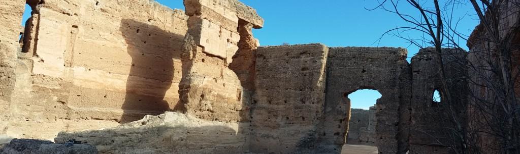 Dachterrasse Palais Al Mansour