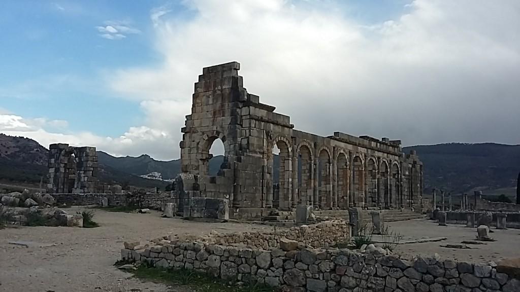 Römische Basilika in Volubilis