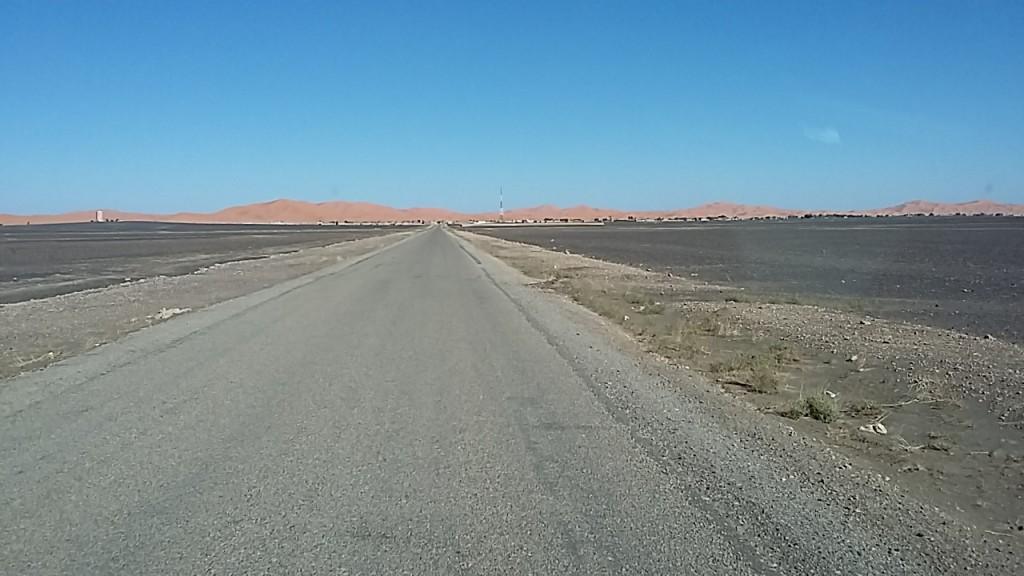 Ja, das sind die Dünen des Erg Chebbi
