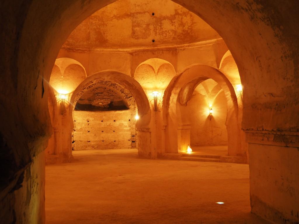 In den Speicherräumen des Palais Al Mansour
