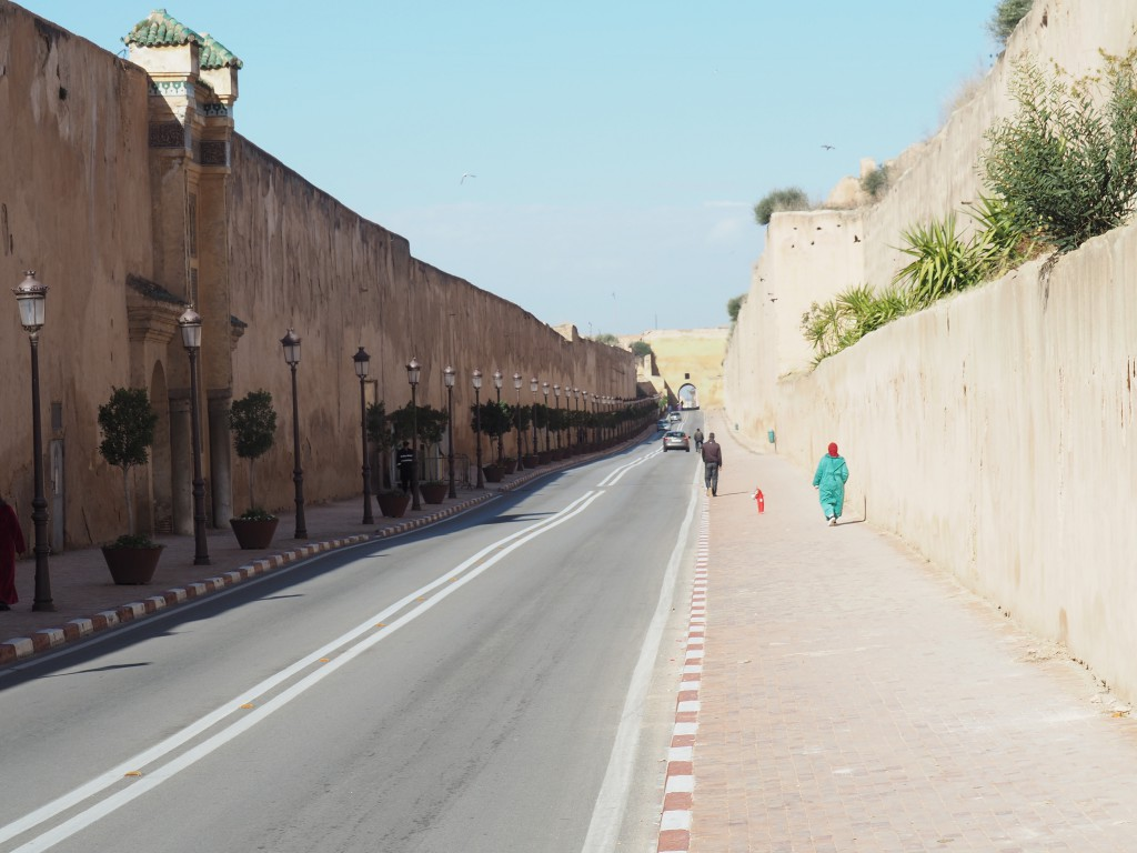 Meknes Palastmauer