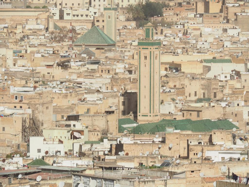 Die mittelalterliche Medina von Fès....