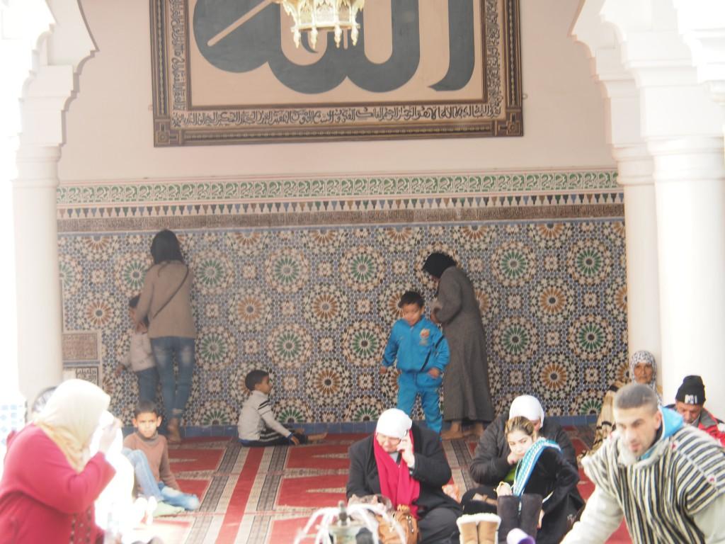 Die Moscheen waren gut besucht