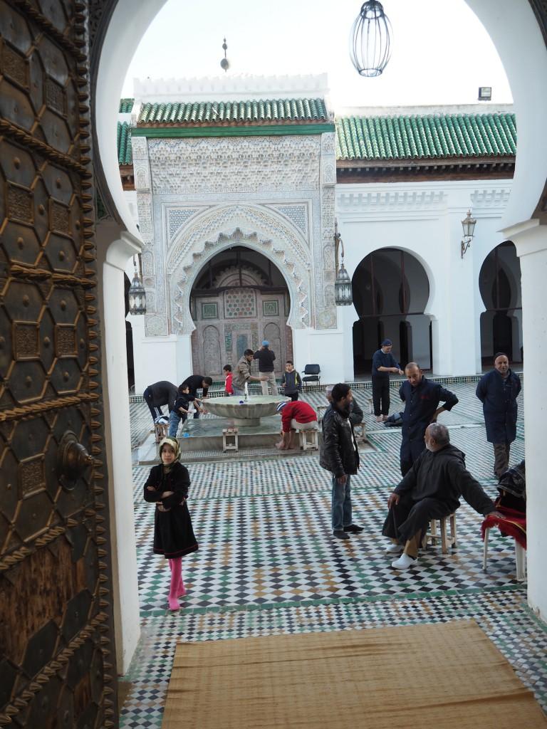 Blick in Moschee