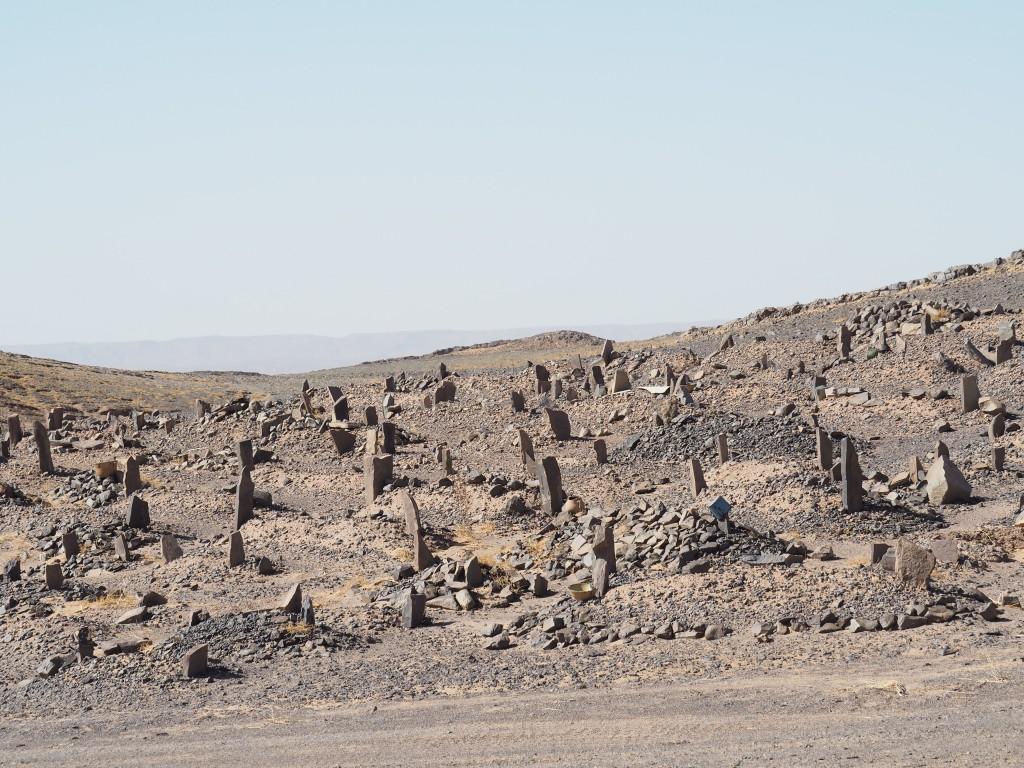 Friedhof in der Minensiedlung