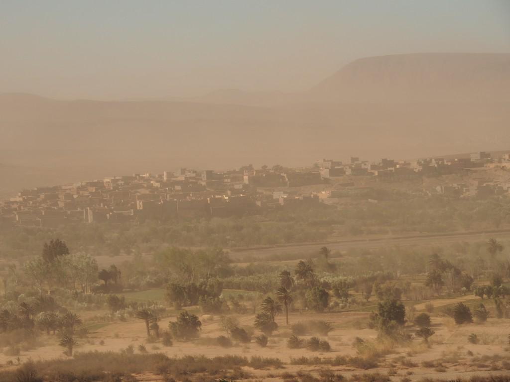 mystische Sandsturmstimmung