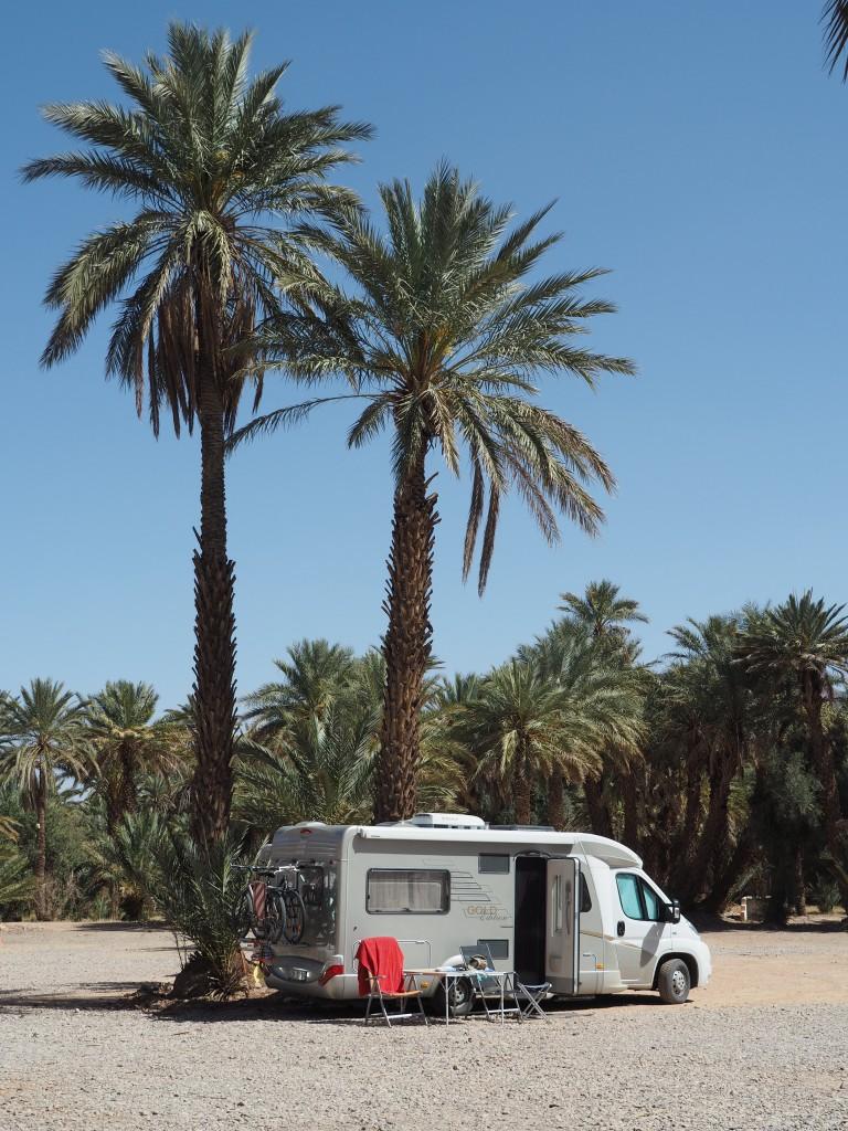 "Campingplatz ""Kasbah La Palmeraie"""