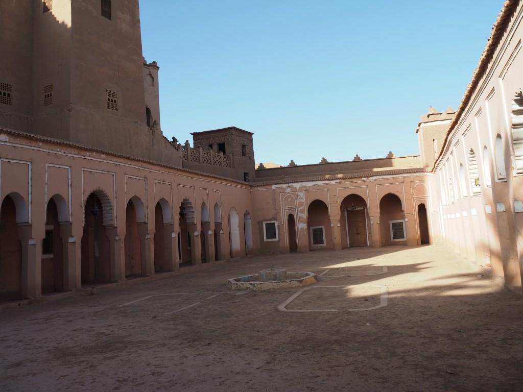 Innenhof der Kasbah - die Orangenbäume sind leider alle eingegangen