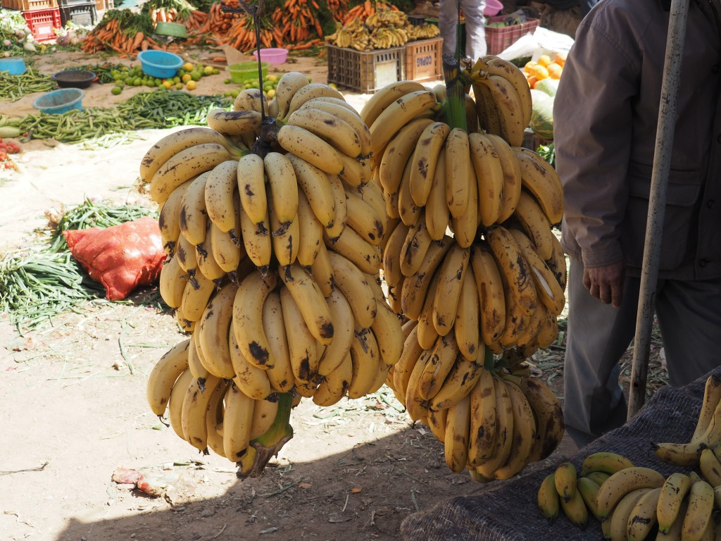 Diese kleinen Bananen schmecken sooo süß!