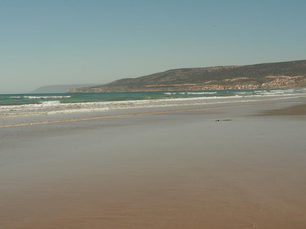 Am Strand von Agadir
