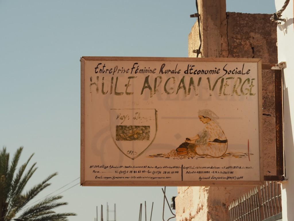 Besuch der Argan-Kooperative in Ait Amira