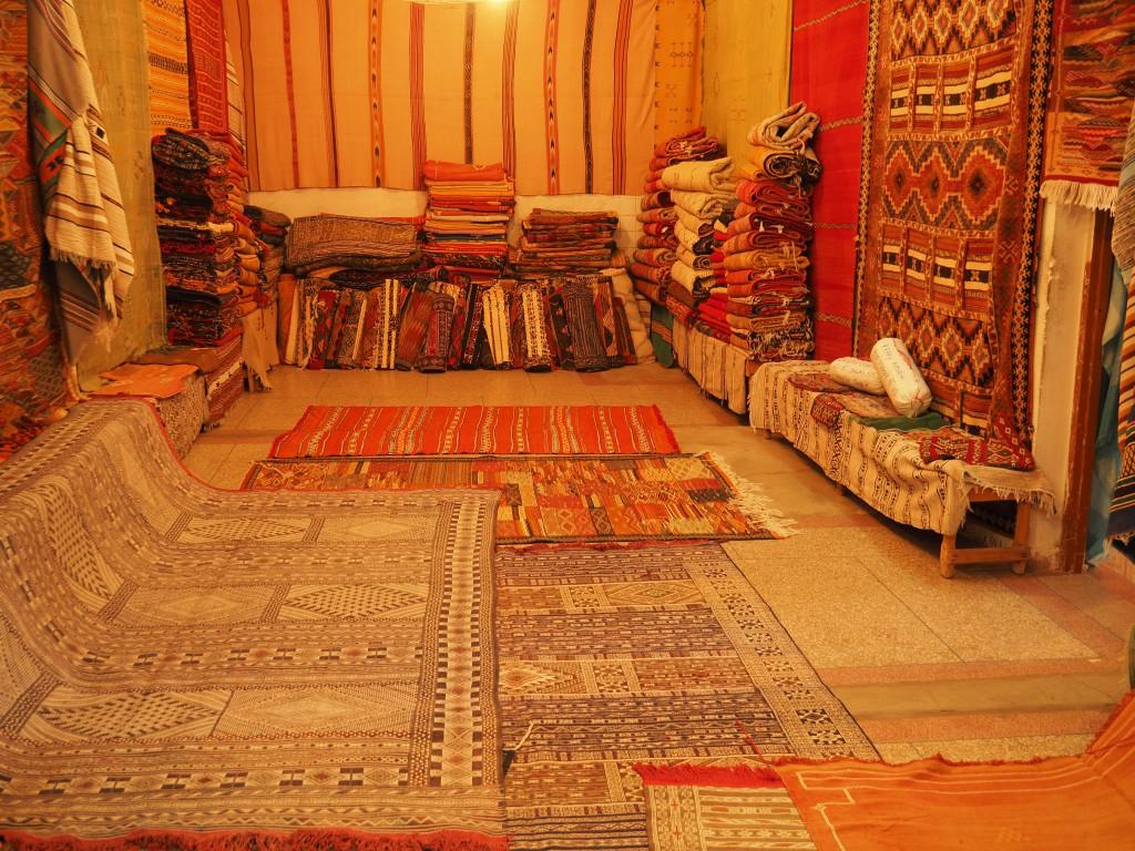 So schöne Berberteppiche - monatelange Arbeit