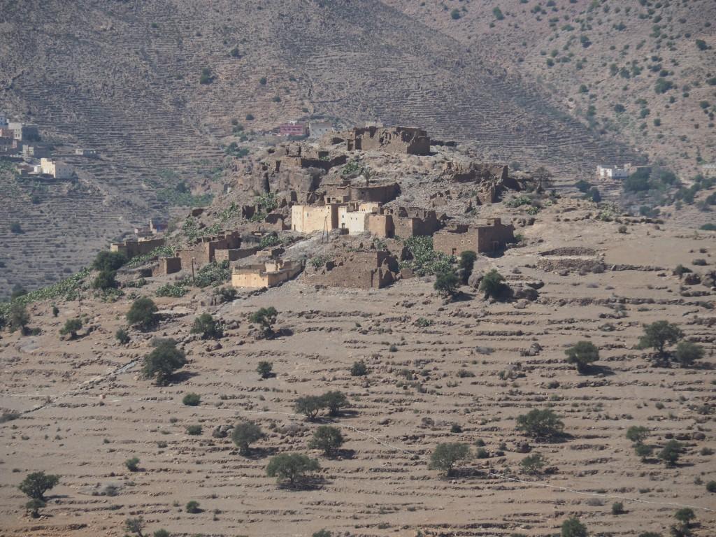 Dorf mit Agadir