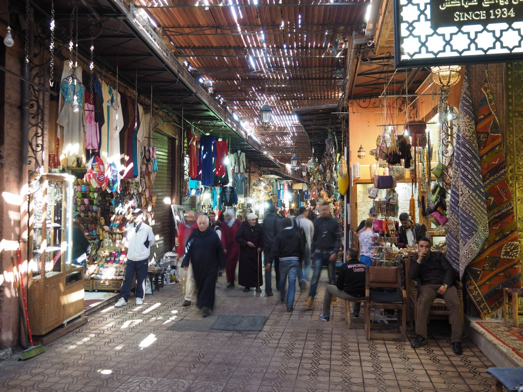 In Marrakeschs Souk