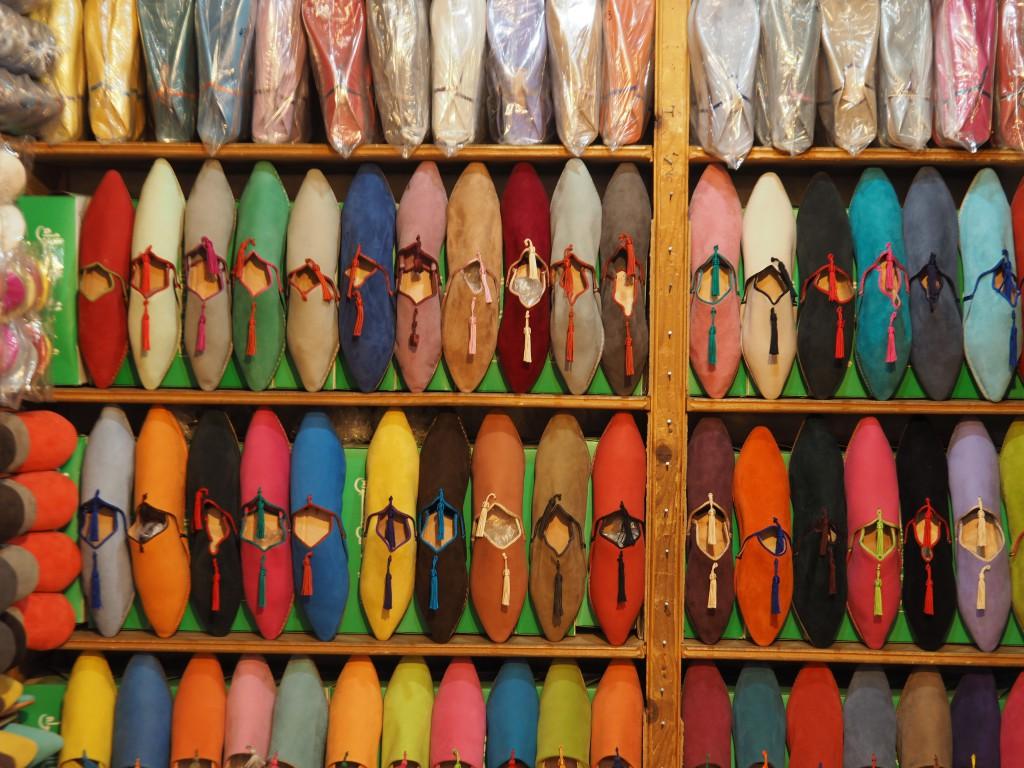 Babouches in allen Farben