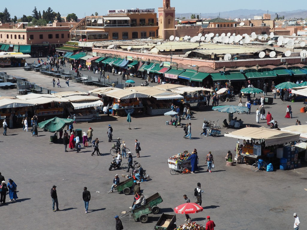 Marokkos berühmtester Platz