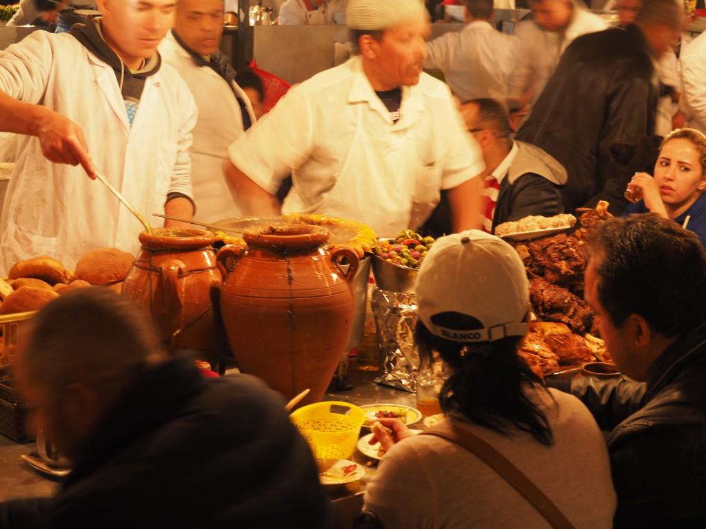 Garküchen in Marrakesch