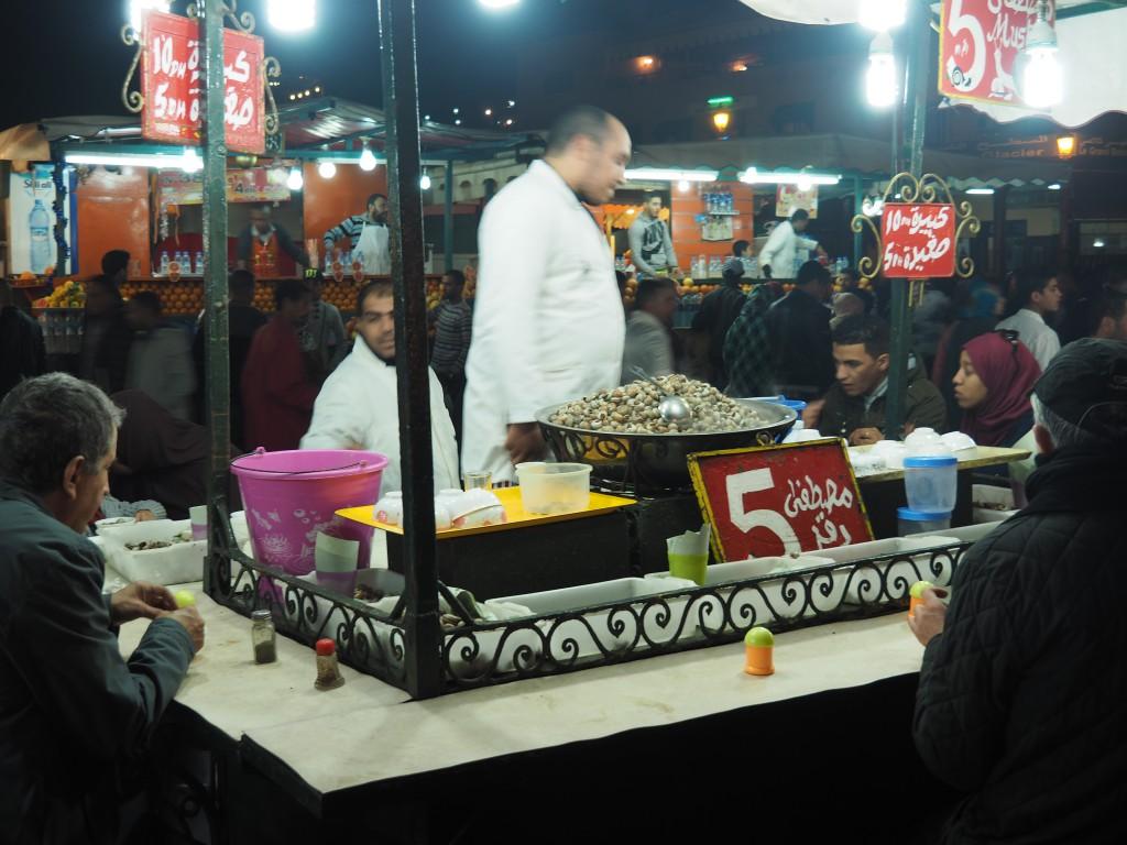 Garküche Marrakesch