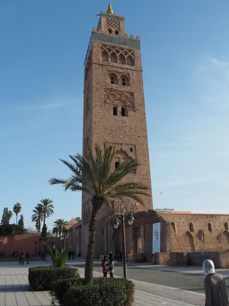 Minarett derKoutoubia-Moschee