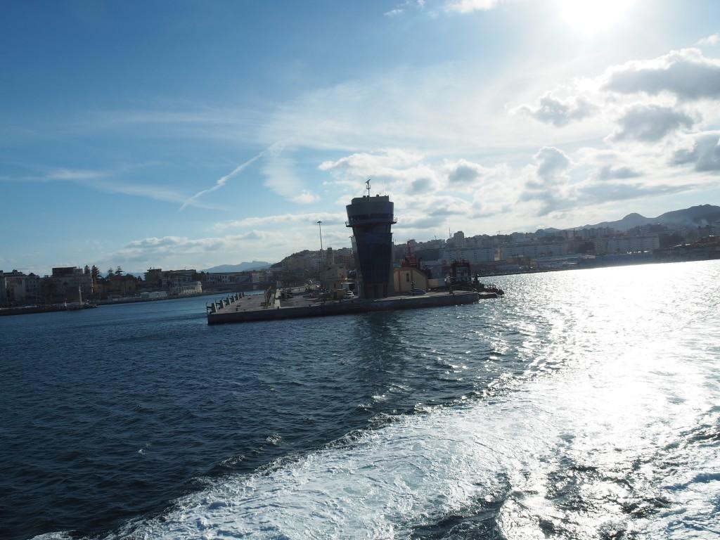 Von Ceuta nach Algeciraz