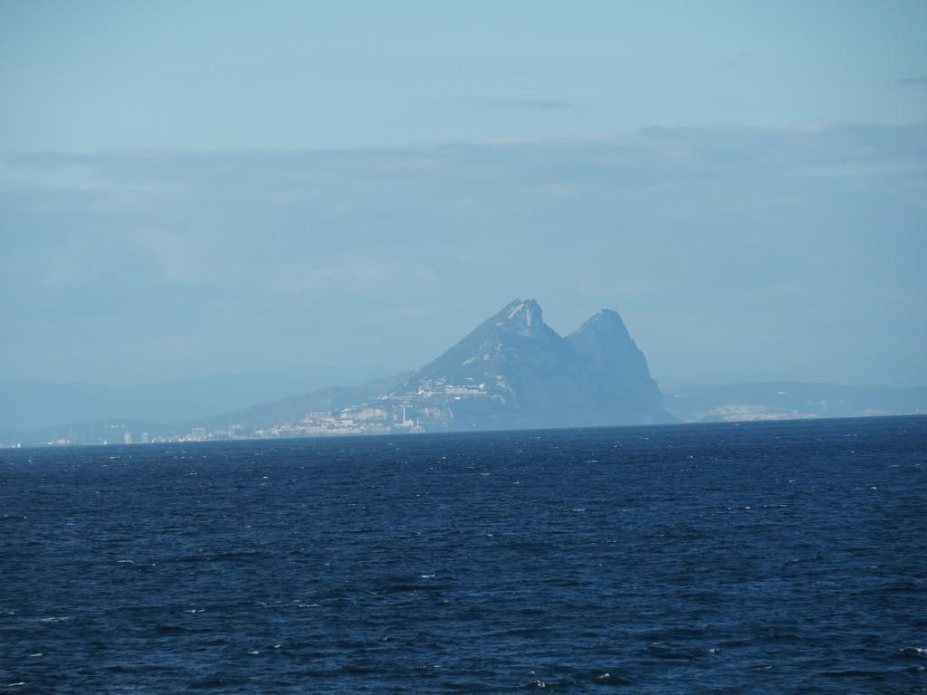 Felsen von Gibraltar - Europa in Sicht