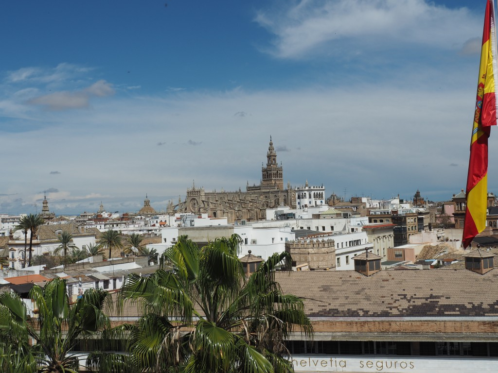 Sevilla Blick vom Torre del Oro