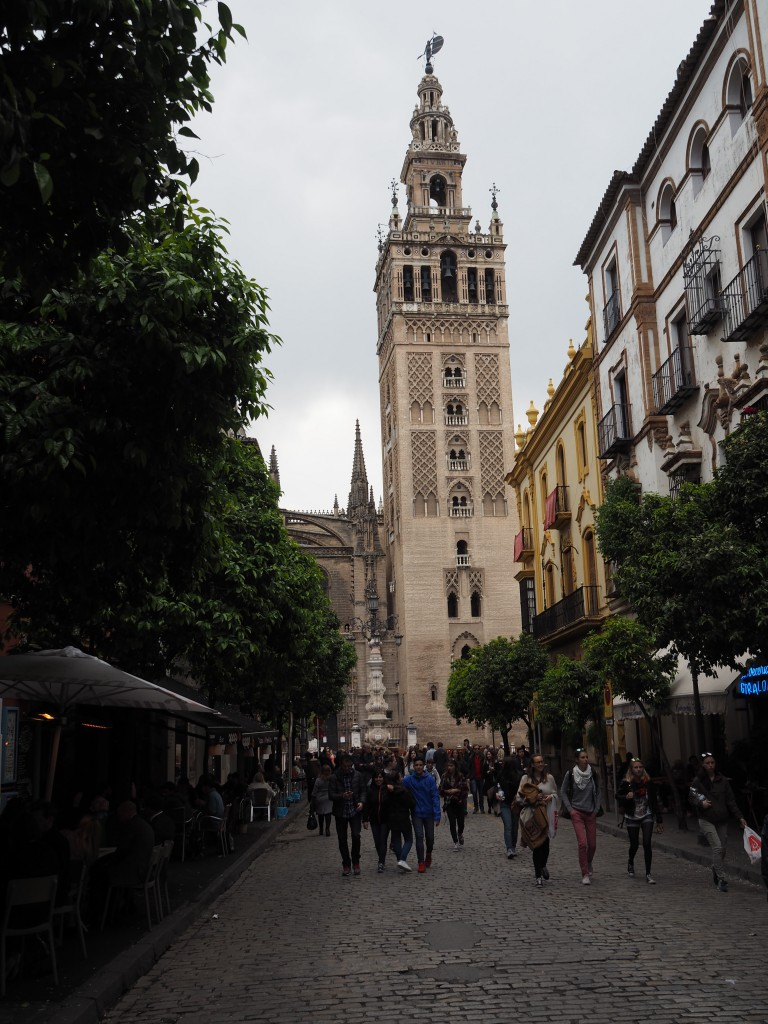 Sevilla -Giralda der Kathedrale