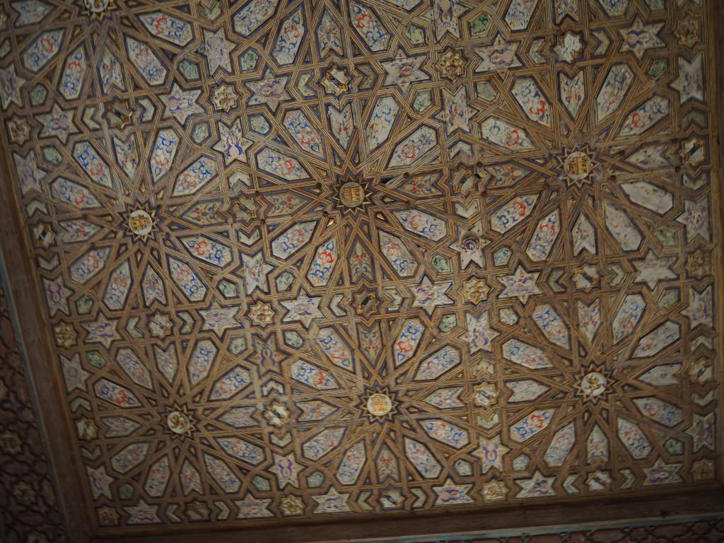 Holzarbeiten maurischer Künstler