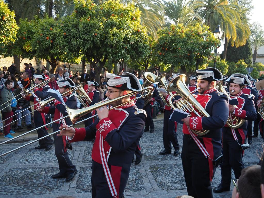 Musikbegleitung Semana Santa in Córdoba