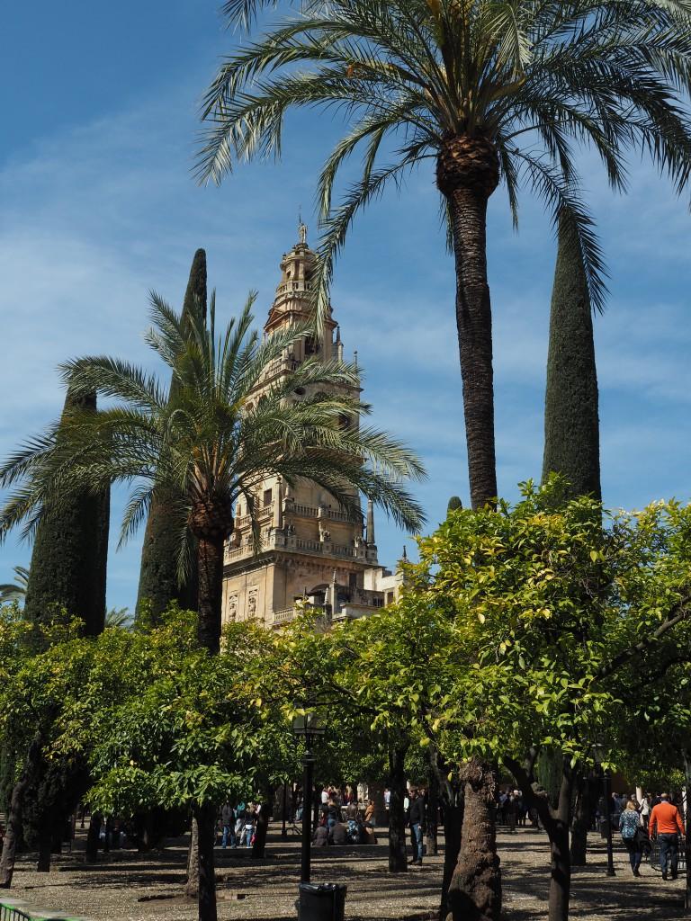 Glockenturm, Orangenhof mit Wasserbecken für rituelle Waschungen