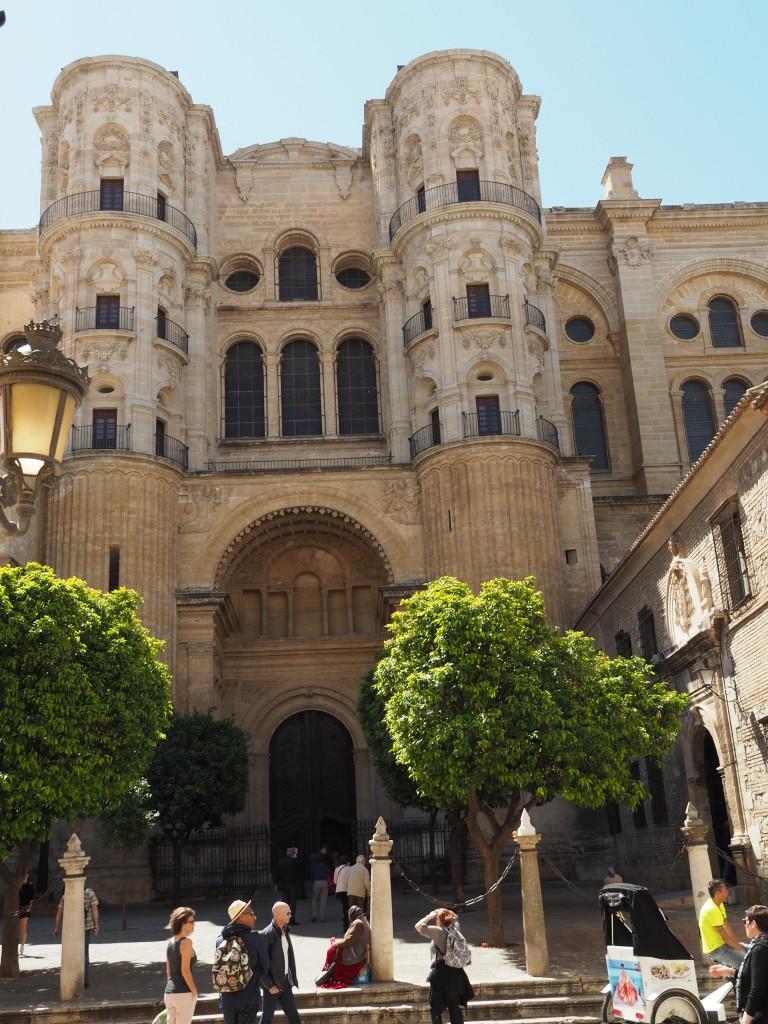 Kathedrale von Málaga, deren Bau bis heute nicht beendet wurde