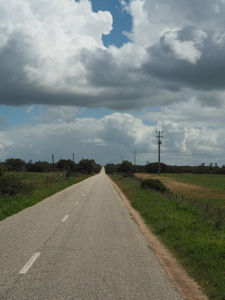 Am Weg nach Evora