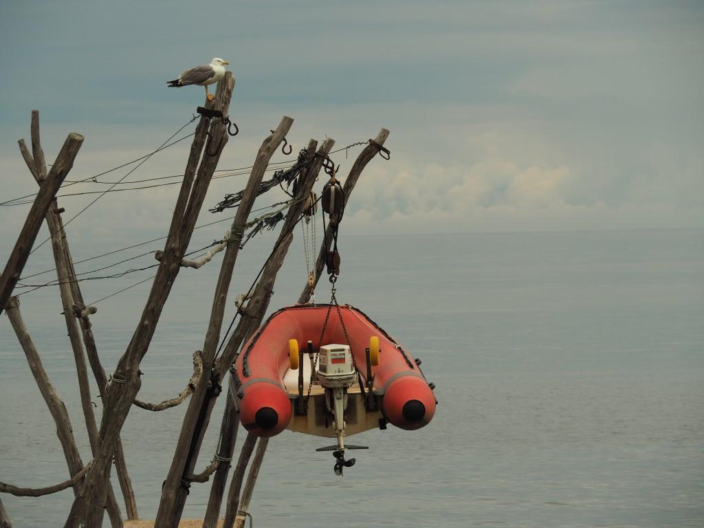 Bootsaufhängestelle Savudrija