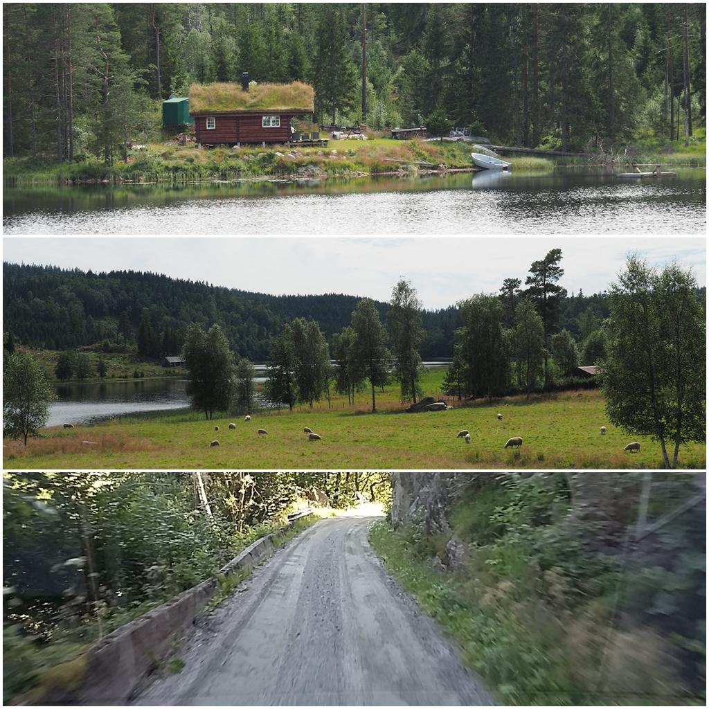 Auf dem Weg zum Südkap Norwegens