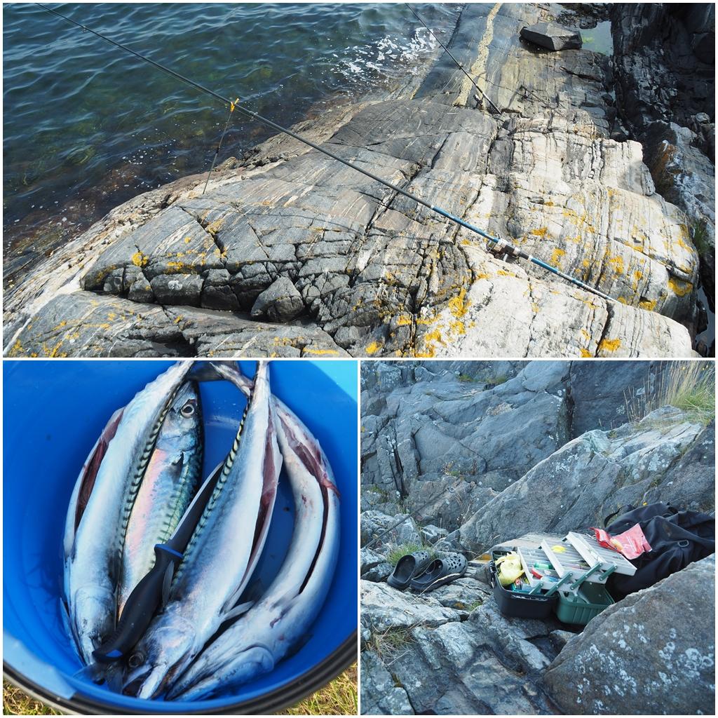Fischen am Kap Lindesnes