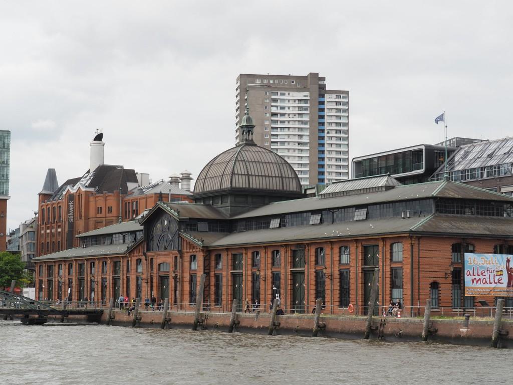 Fischauktionshalle - ein Gebäude mit Stil - darf heute als Veranstaltungsort dienen