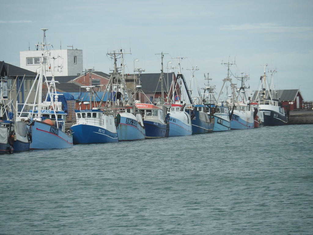 Im Hafen von Hirtshals