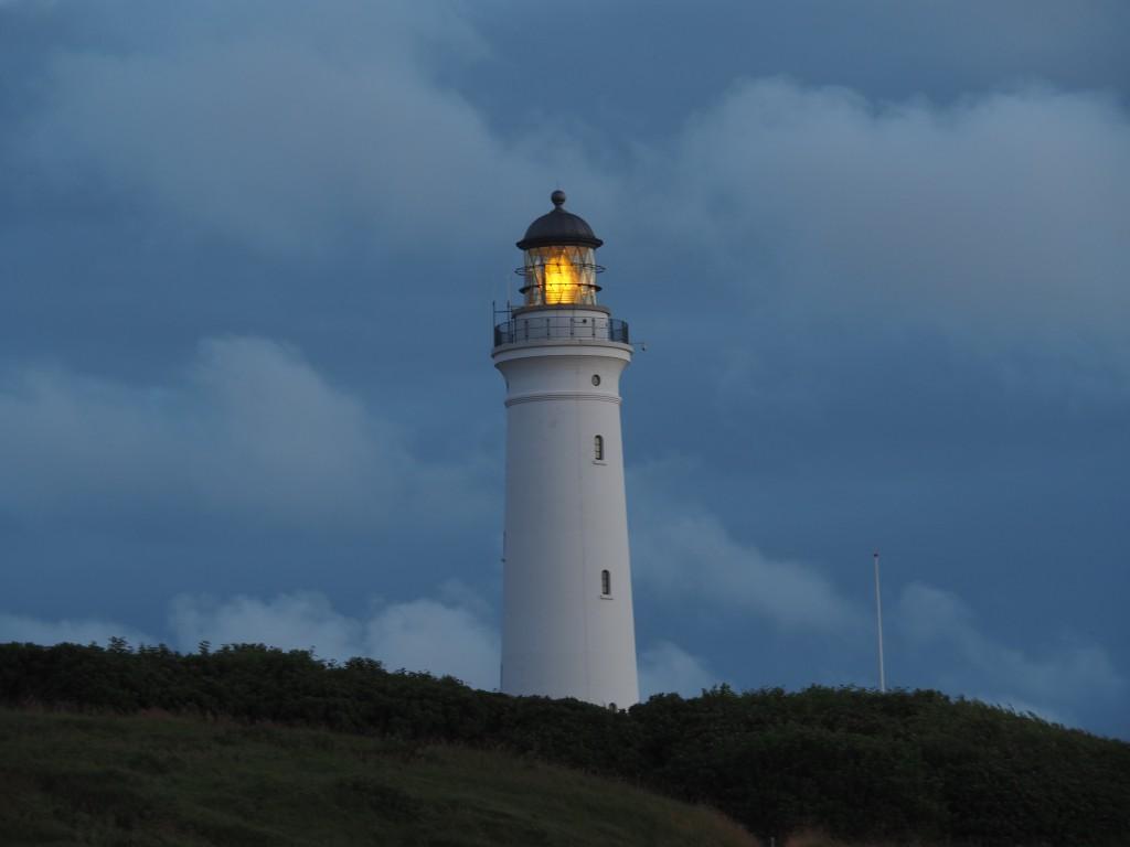 Leuchttürme sind auch kurz vor Mitternacht wunderschön!
