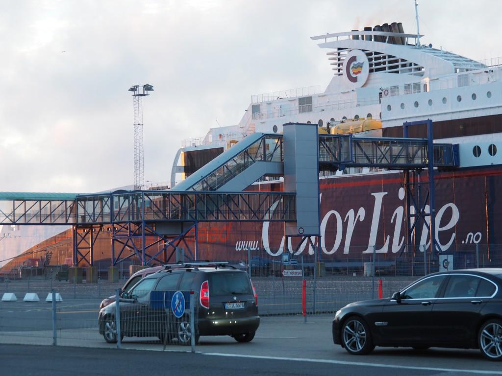 Fähre von Hirtshals nach Larvik
