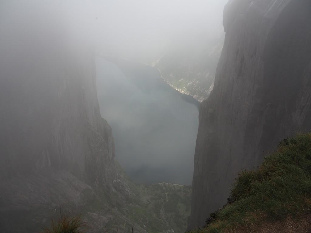Blickk auf Lysefjord