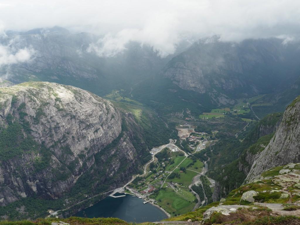 Lisebotn am Ende des Lysefjords