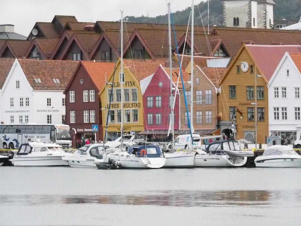Tyskebryggen, der Deutsche Kai in Bergen
